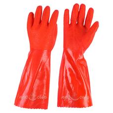 Перчатки для горячей воды (резиновые, двойные)