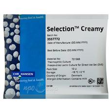 Закваска Chr.Hansen Selection Creamy (10U) на 100 литров молока